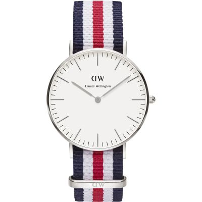 Ladies Daniel Wellington Canterbury Silver 36mm Watch DW00100051