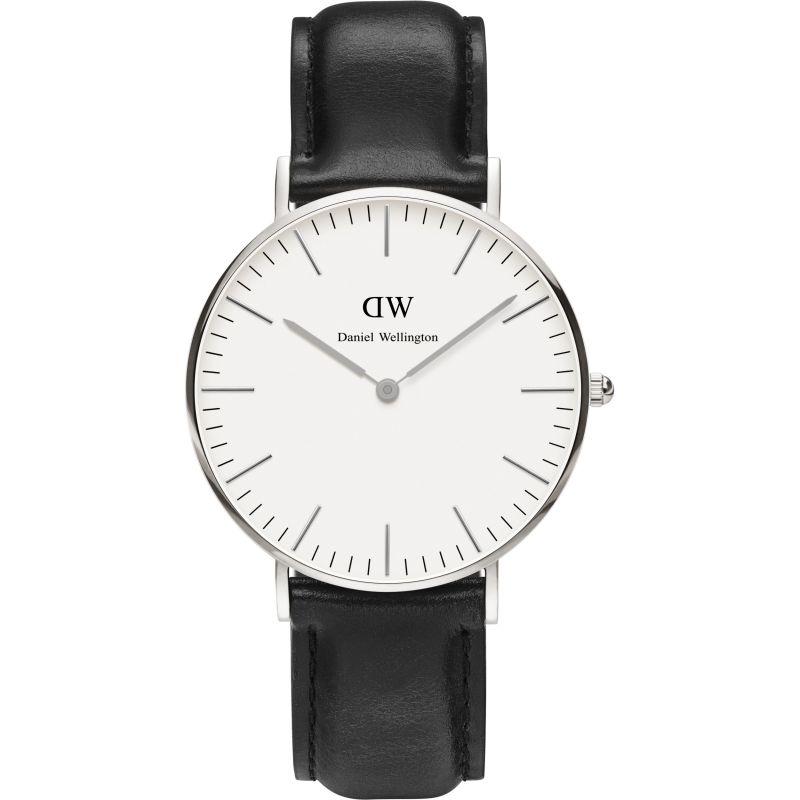 Ladies Daniel Wellington Sheffield Silver 36mm Watch