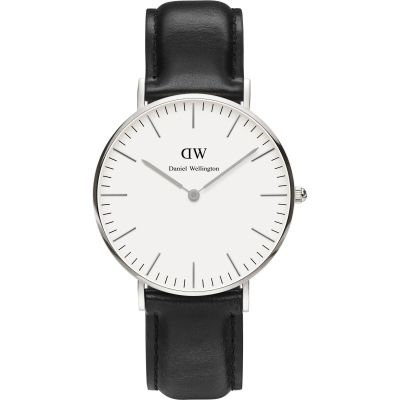 Ladies Daniel Wellington Sheffield Silver 36mm Watch DW00100053