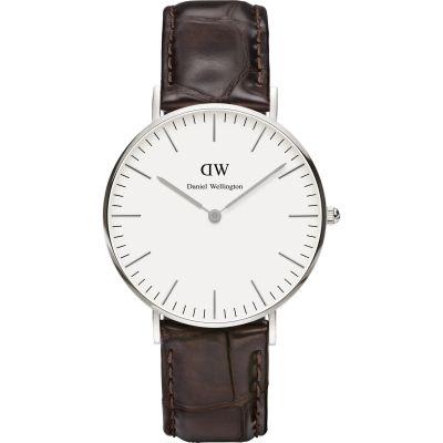 Ladies Daniel Wellington York Silver 36mm Watch DW00100055