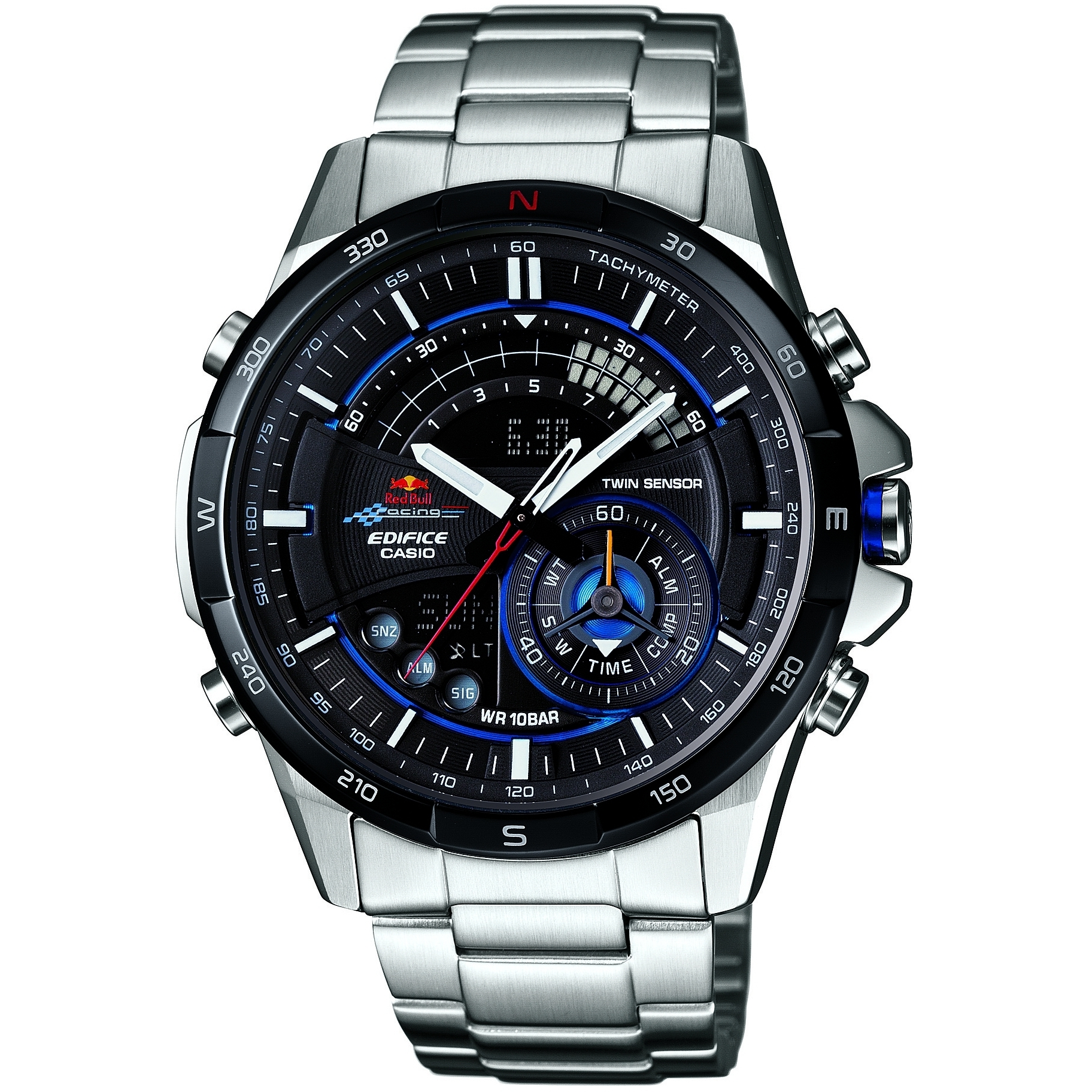 Gents Casio Edifice Red Bull Racing Limited Edition Alarm Chronograph Watch  (ERA-200RB-1AER)  671a3b429