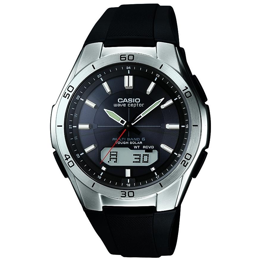 15499c00edfd Gents Casio Waveceptor Alarm Chronograph Watch (WVA-M640-1AER ...