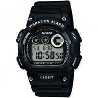 Mens Casio Classic Vibration Alarm Chronograph Watch W-735H-1AVEF