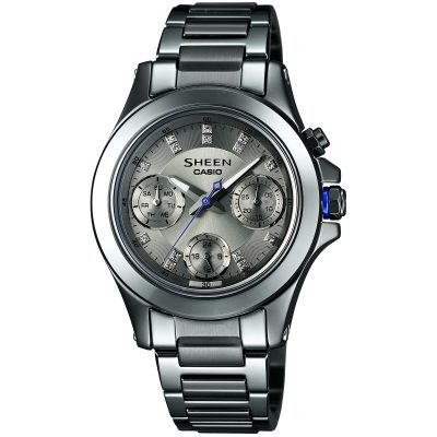 Ladies Casio Sheen Ceramic Watch SHE-3503D-8AER
