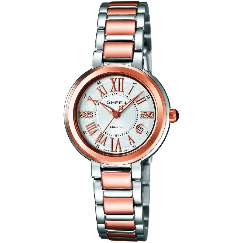 Ladies Casio Sheen Watch SHE-4029SGA-7AUDR