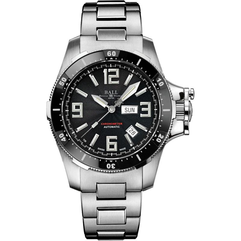 Mens Ball Engineer Hydrocarbon Airborne Chronometer Watch