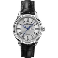 Mens Ball Trainmaster Roman Automatic Watch NM1058D-L4J-WH