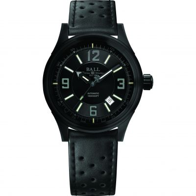 Mens Ball Fireman Racer DLC Automatic Watch NM3098C-P1J-BK