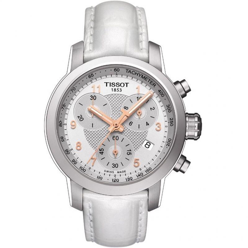 Ladies Tissot PRC200 Chronograph Watch