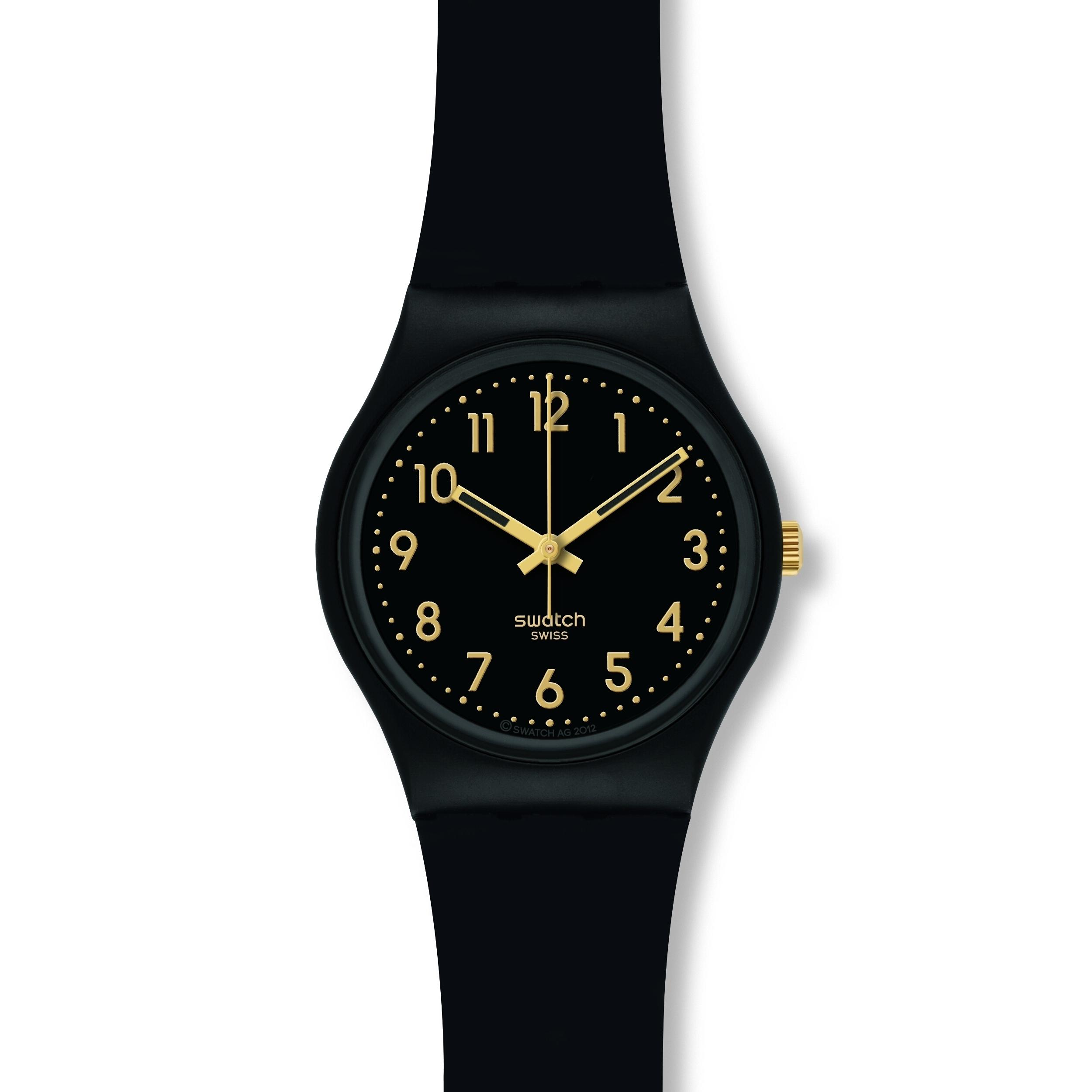 c2b262cc7677 Ladies Swatch Golden Tac Watch (GB274)