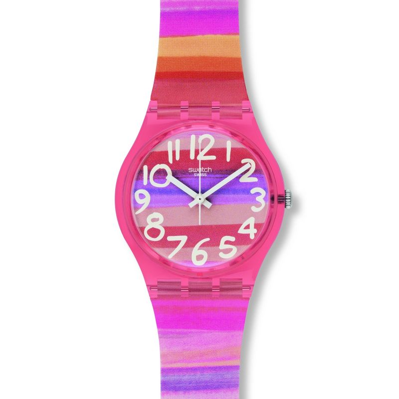 Image of            Ladies Swatch Astilbe Watch