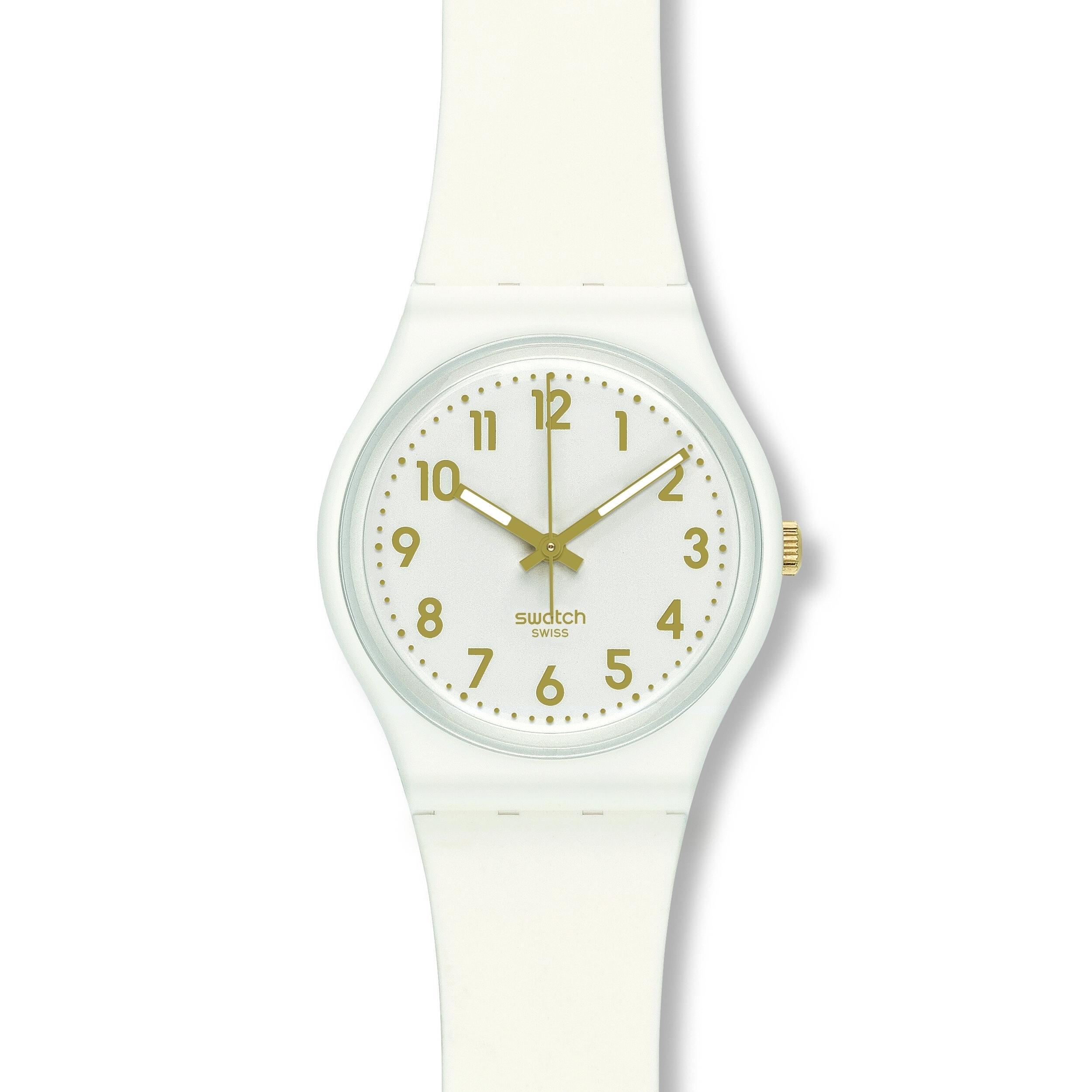 e8438ee881e7 Ladies Swatch White Bishop Watch (GW164)