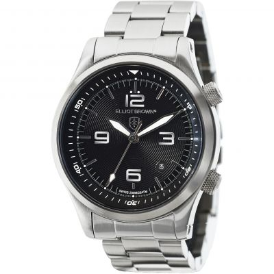 Elliot Brown Canford Herrklocka Silver 202-006-B02