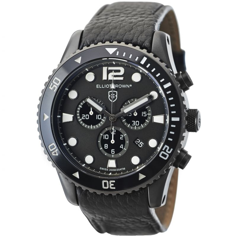 Mens Elliot Brown Bloxworth Chronograph Watch 929-001-L01