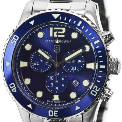Montre Chronographe Homme Elliot Brown Bloxworth 929-003-B01