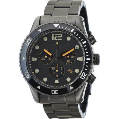 Elliot Brown Bloxworth Herrenchronograph in Schwarz 929-004-B05