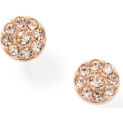 Fossil Dames Vintage Glitz Earrings PVD verguld Rose JF00830791