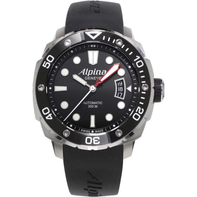 Mens Alpina Seastrong Diver Automatic Watch