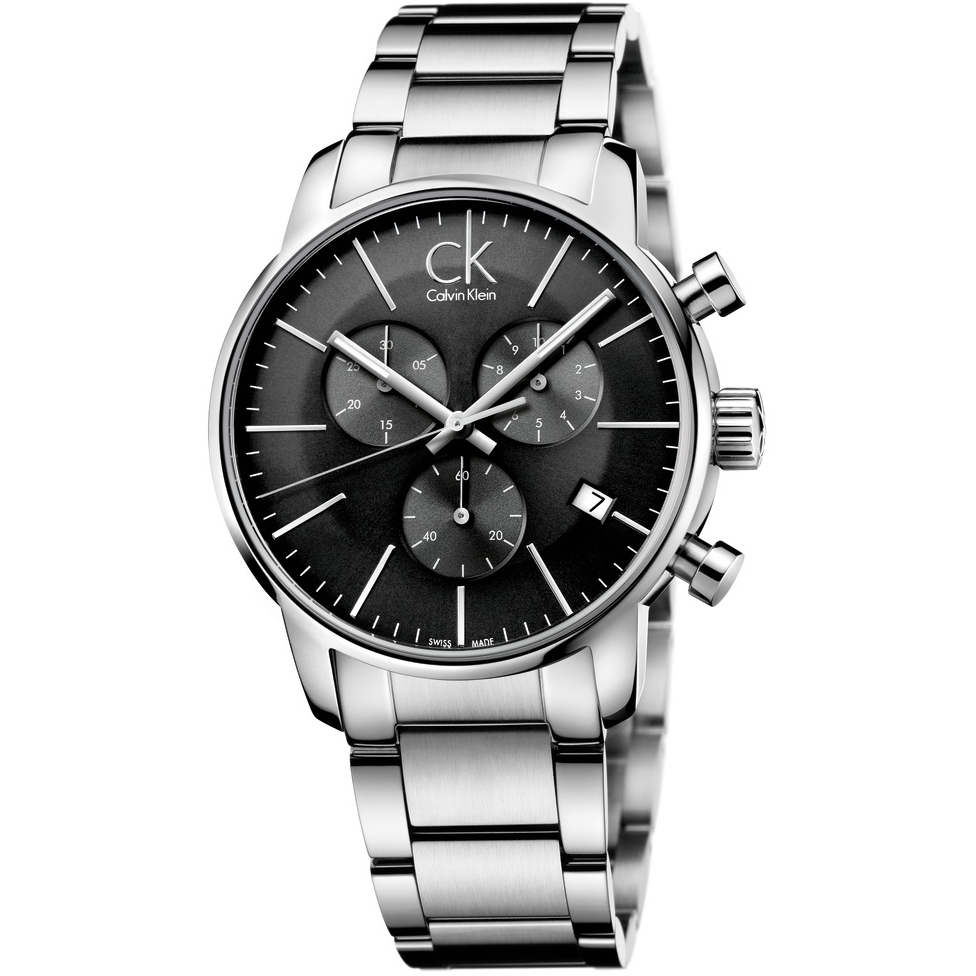 e18643597 Gents Calvin Klein City Chronograph Watch (K2G27143) | WatchShop.com™