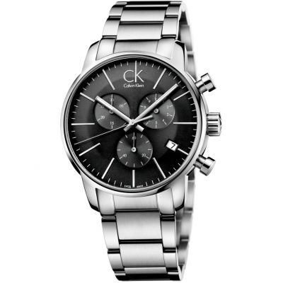 Mens Calvin Klein City Chronograph Watch K2G27143