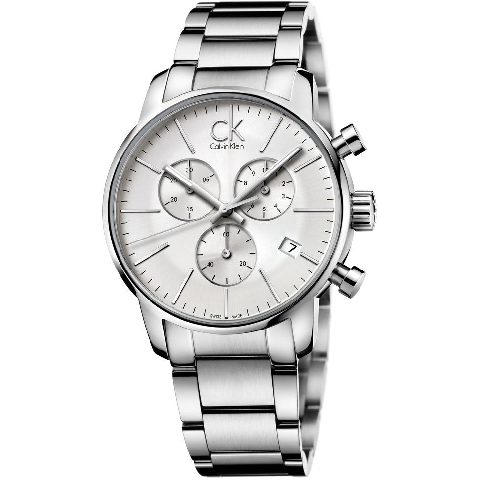 c19ec97b6 Gents Calvin Klein City Chronograph Watch (K2G27146) | WatchShop.com™
