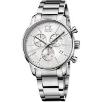 Mens Calvin Klein City Chronograph Watch K2G27146