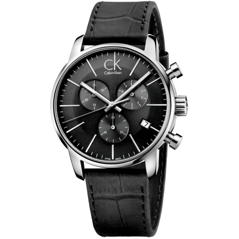 Mens Calvin Klein City Chronograph Watch K2G271C3