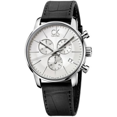 Mens Calvin Klein City Chronograph Watch K2G271C6