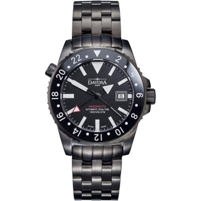 Mens Davosa Argonautic Dual Time GMT Automatic Watch 16151280