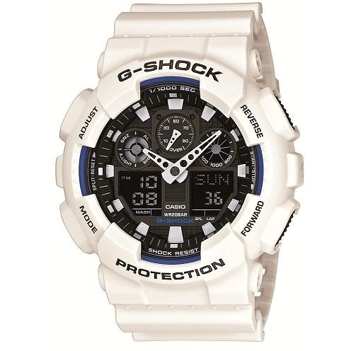 cd3fadd78a99 Gents Casio G-Shock Alarm Chronograph Watch (GA-100B-7AER ...