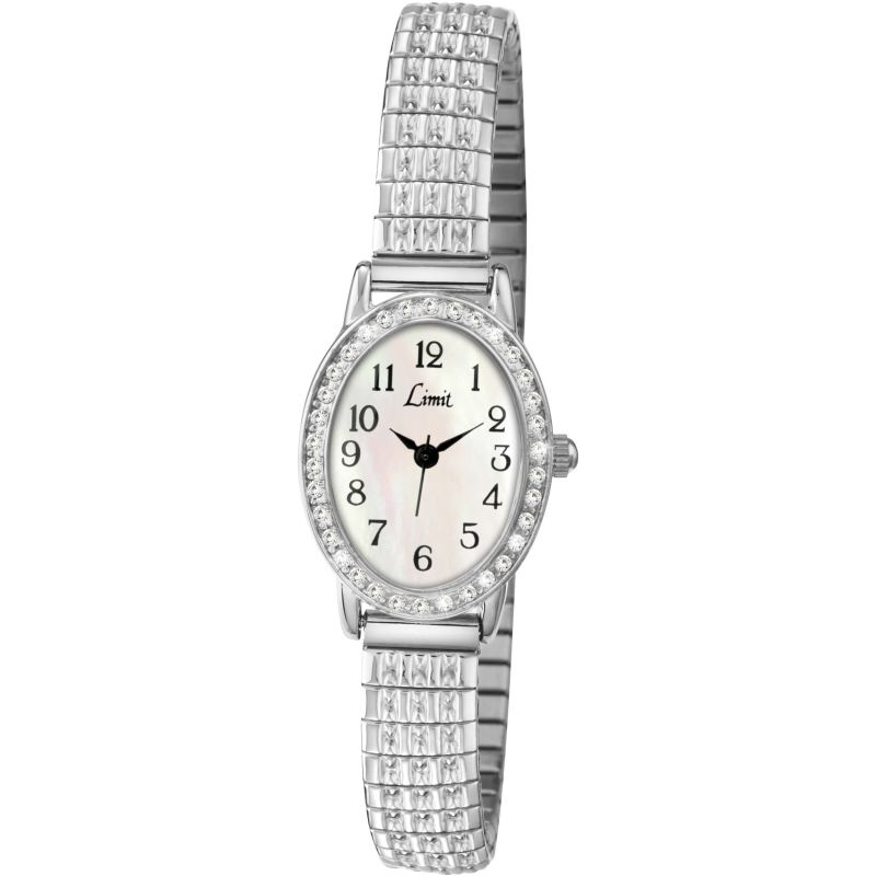 Ladies Limit Silver Coloured Expanding Bracelet Watch 6029.01
