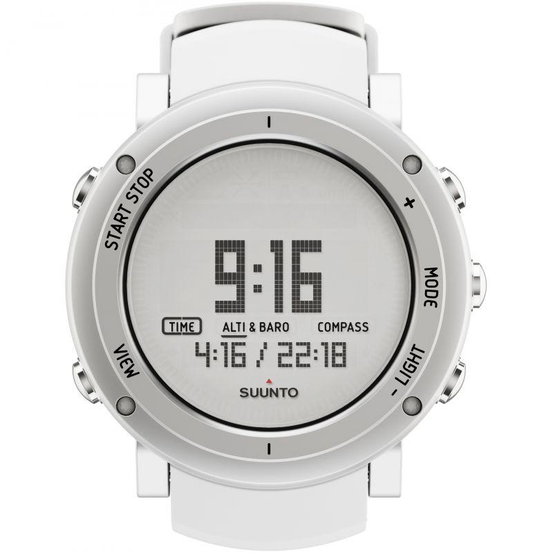 Mens Suunto Core Alu pure white Alarm Chronograph Watch