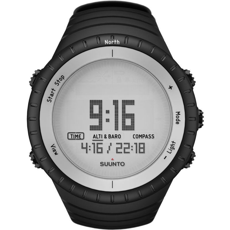 Mens Suunto Core Glacier Gray Alarm Chronograph Watch