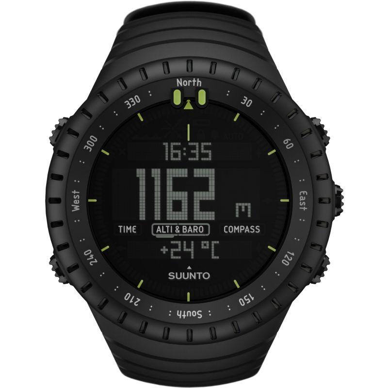 Mens Suunto Core All Black Alarm Chronograph Watch