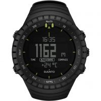 Mens Suunto Core All Black Alarm Chronograph Watch