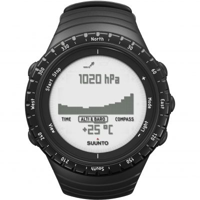 Suunto Core regular black Herrkronograf Svart SS014809000