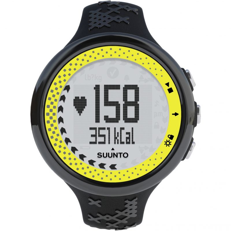 Unisex Suunto M5 Women Black Lime Pack Alarm Chronograph Watch SS019863000