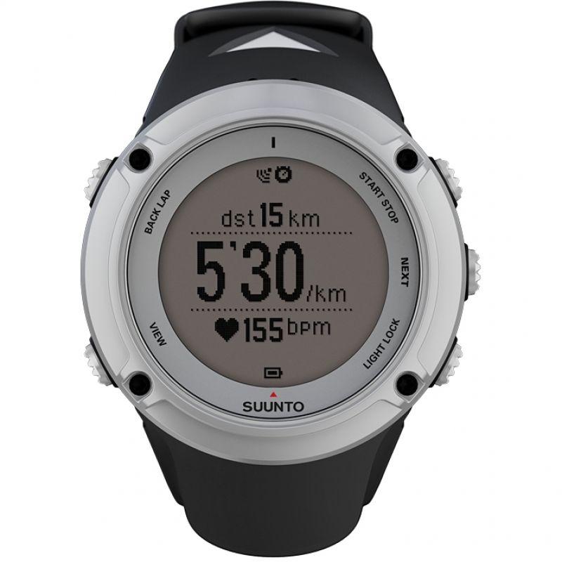 Unisex Suunto Ambit2 Bluetooth Silver Alarm Chronograph Watch