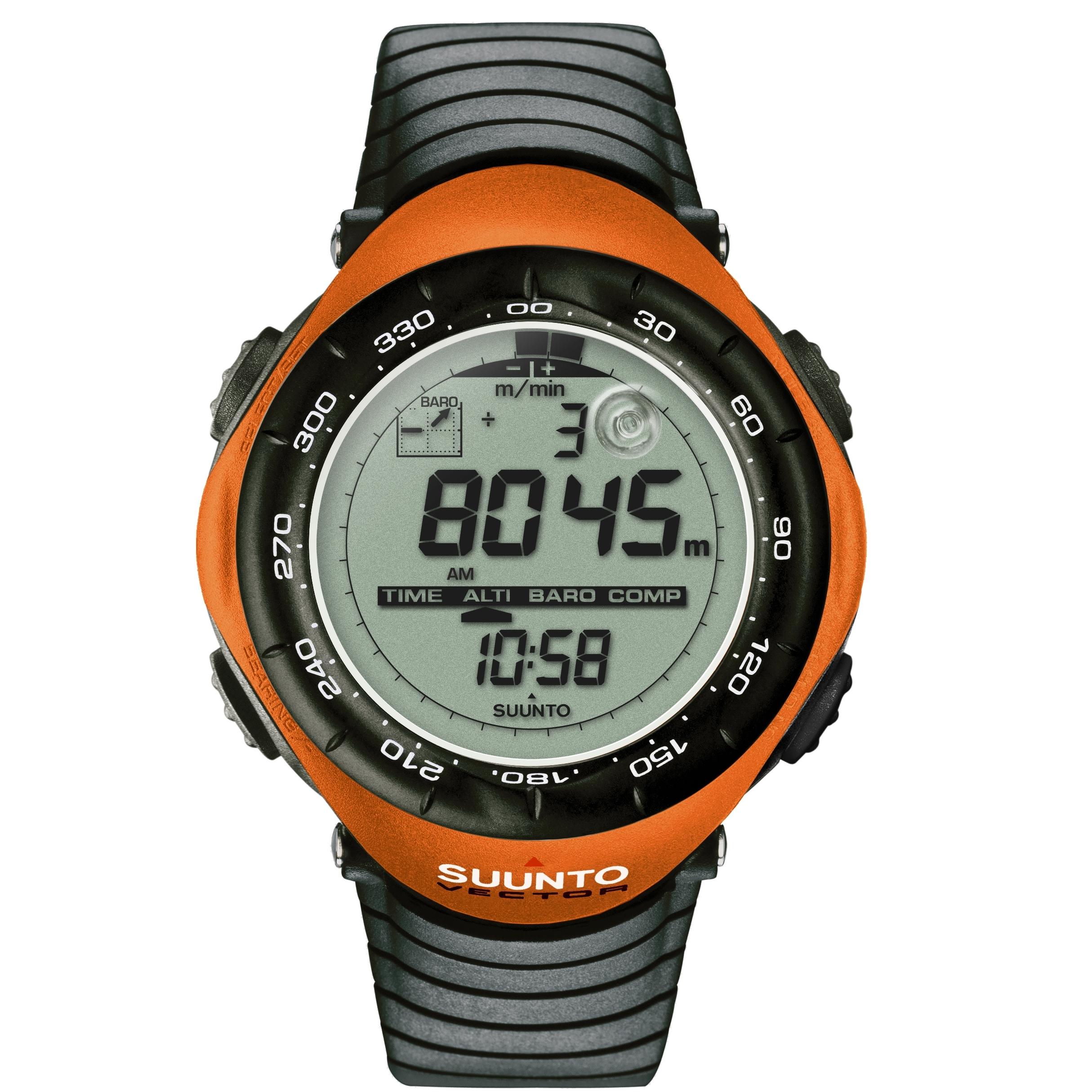 gents suunto vector orange alarm chronograph watch ss015077000 rh watchshop com suunto vector owners manual Suunto Watch Manual