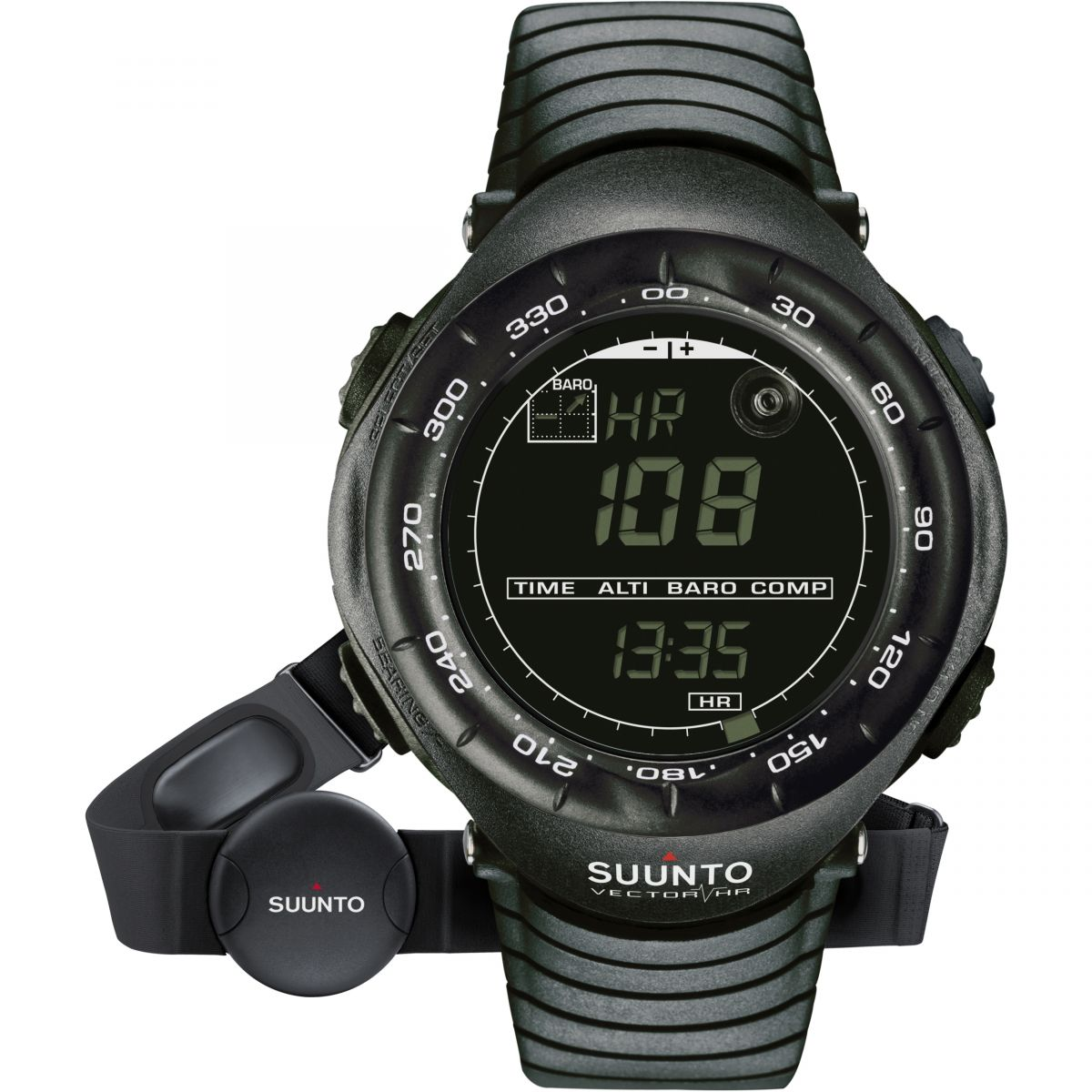 gents suunto vector hr black alarm chronograph watch ss015301000 rh watchshop com Suunto User Manual Suunto Watch Manual