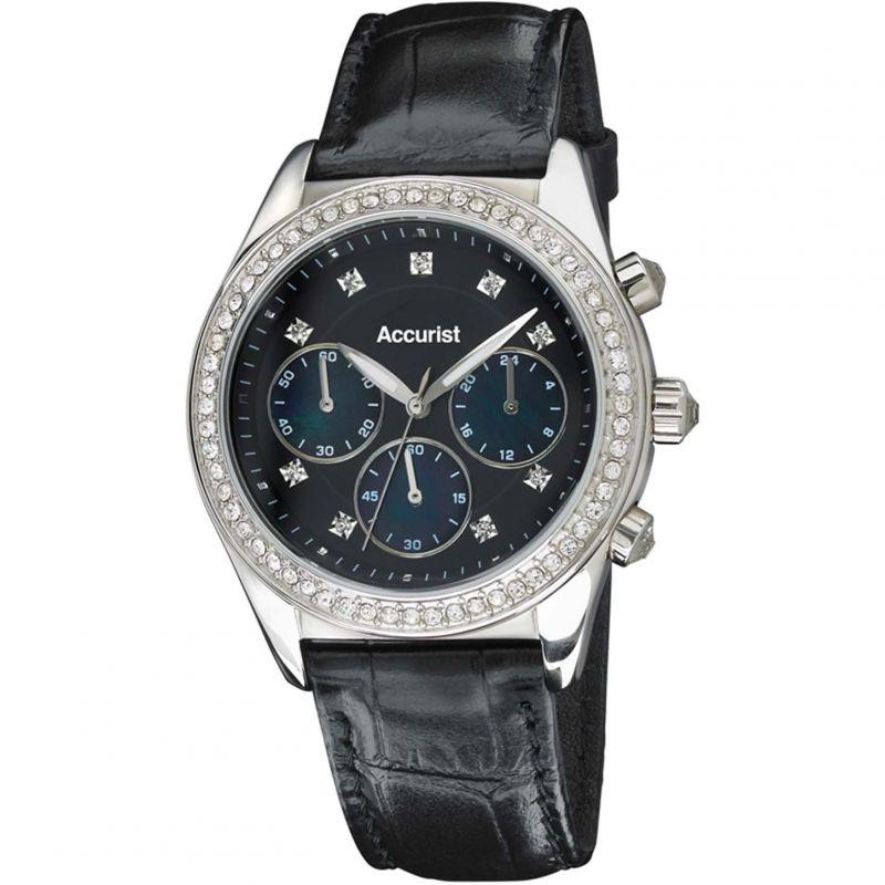 Ladies Accurist Chronograph Watch