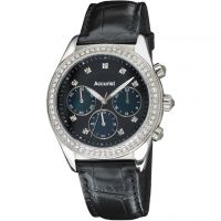 Ladies Accurist Chronograph Watch LS410B