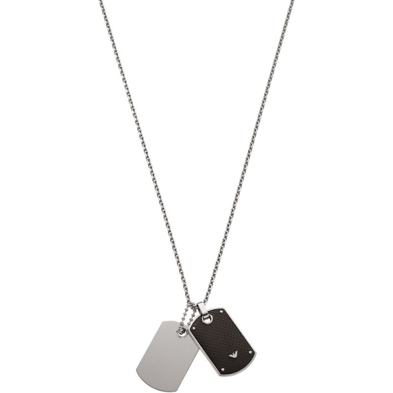Mens Emporio Armani Stainless Steel Necklace EGS1601040