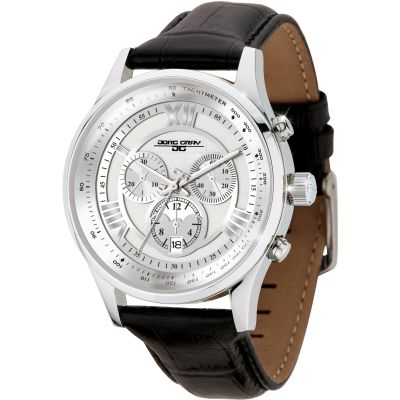 Mens Jorg Gray Chronograph Watch JG6600-22