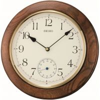 Seiko Clocks Wooden Wall