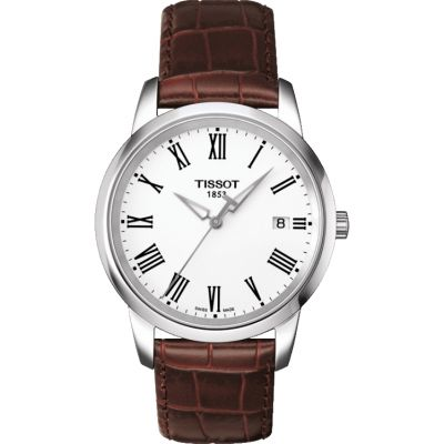 Tissot T-Classic Classic Dream Herrenuhr in Braun T0334101601301