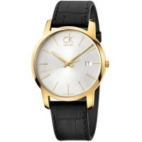 Mens Calvin Klein City Date Watch K2G2G5C6