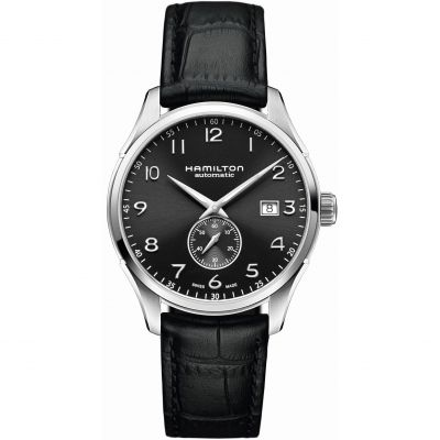 Hamilton Jazzmaster Small Second Herenhorloge Zwart H42515735
