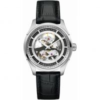 Mens Hamilton Jazzmaster Viewmatic Skeleton Automatic Watch H42555751