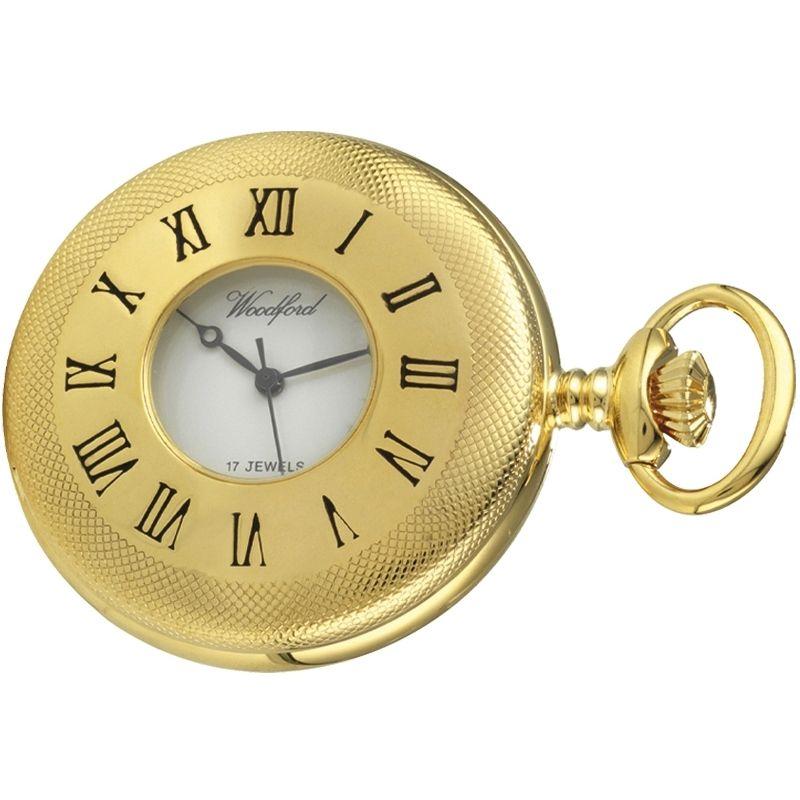 Woodford Half Hunter Mechanical Watch